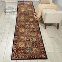 Nourison Persian Arts Multi Rug - 2'3 x 12'