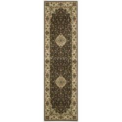 Nourison Persian Arts Brown Polyacrylic Rug - 2'3 x 12' - Thumbnail 0