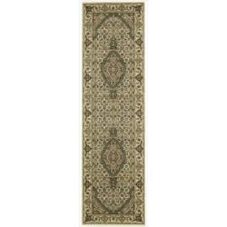 "Nourison Persian Arts Ivory Floral Rug (2'3"" x 12')"
