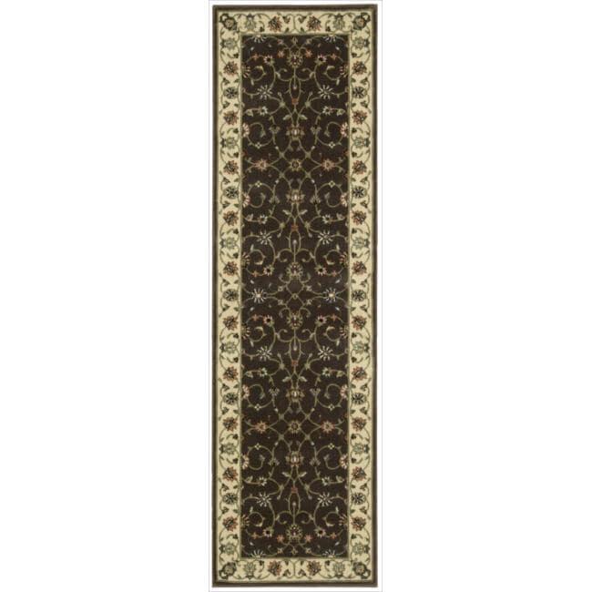 Nourison Persian Arts Brown Rug (2'3 x 12')
