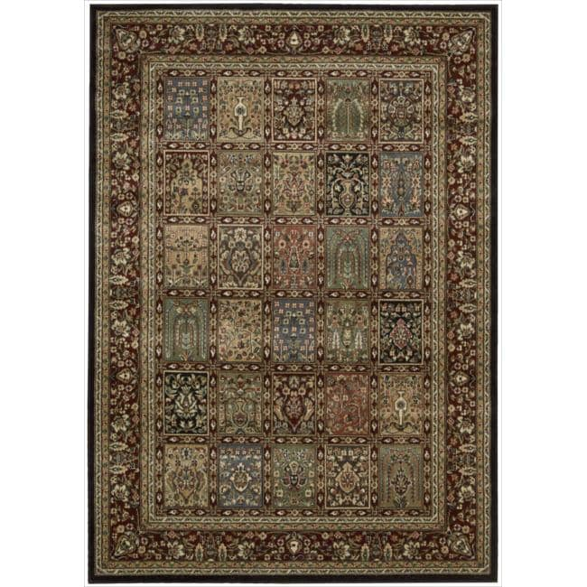 Nourison Persian Arts Multi Rug (3'6 x 5'6)