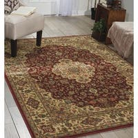 "Nourison Persian Arts Burgundy Area Rug (3'6"" x 5'6"") - 3'6 x 5'6"