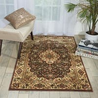 "Nourison Persian Arts Brown Polyacrylic Rug (3'6"" x 5'6"") - 3'6 x 5'6"
