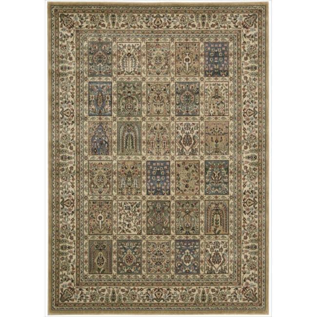 Nourison Persian Arts Beige Rug - 5'3 x 7'5