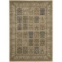 Nourison Persian Arts Beige Rug (5'3 x 7'5) - 5'3 x 7'5