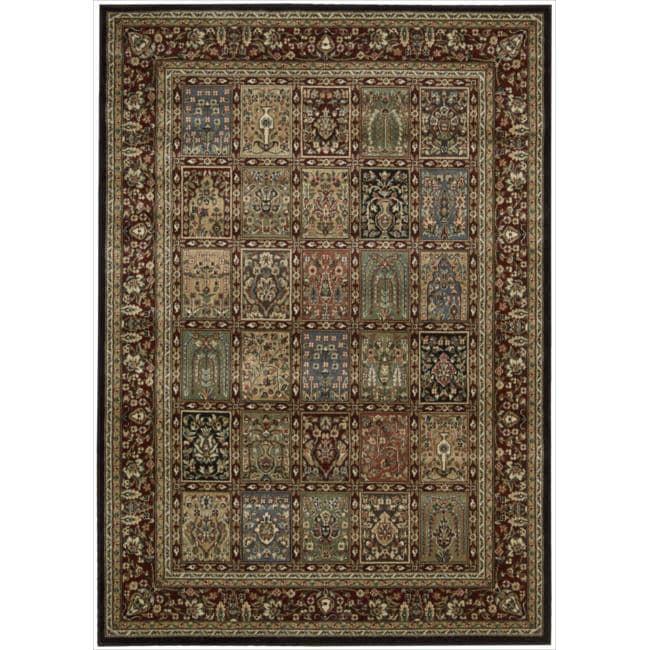 Nourison Persian Arts Multi Rug - 5'3 x 7'5