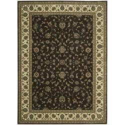 Nourison Persian Arts Brown Area Rug - 9'6 x 13' - Thumbnail 0