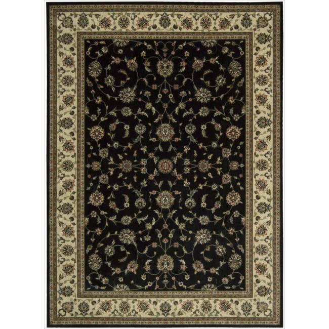 Nourison Persian Arts Black Area Rug - 9'6 x 13'