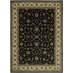 Nourison Persian Arts Black Area Rug - 9'6 x 13' - Thumbnail 0