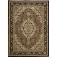 Nourison Persian Arts Burgundy Rug - 9'6 x 13'