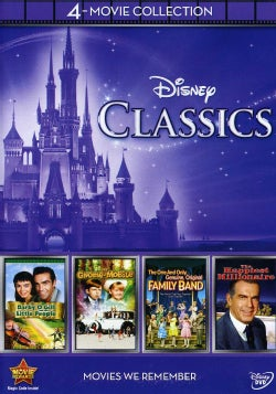 Disney 4-Movie Collection: Classics (Gnome-Mobile / Darby O'gill & Little People / One & Only Genuine Family) (DVD)