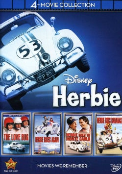 Disney 4-Movie Collection: Herbie (Love Bug / Herbie Goes Bananas / Herbie Goes To Monte Carlo / Herbie Rides Again) (DVD)