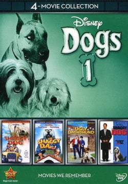 Disney 4-Movie Collection: Dogs 1 (Shaggy Da / Shaggy Dog (1959) / Shaggy Dog (2006) / The Ugly Dachshund) (DVD)