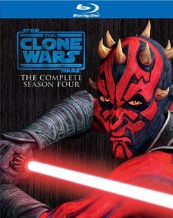 Star Wars: The Clone Wars Season Four (Blu-ray Disc)