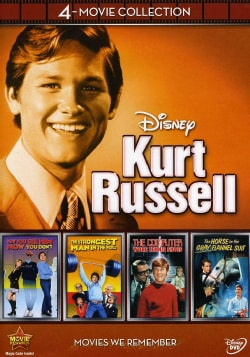 Disney 4-Film Collection Kurt Russell (DVD)