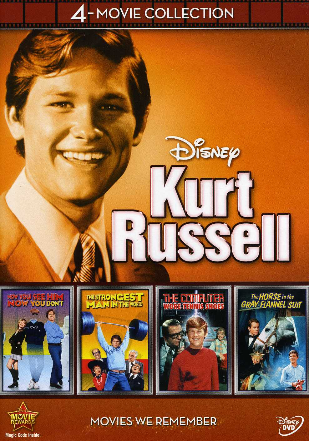 Disney 4 Film Collection Kurt Russell Dvd Free