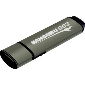 Kanguru SS3 USB3.0 Flash Drive with Physical Write Protect Switch, 64G