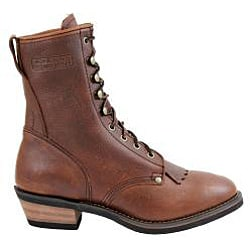AdTec by Beston Men's Chestnut Packer Boots - Thumbnail 1