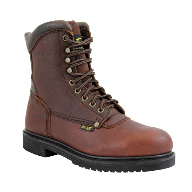 AdTec by Beston Men's Medium Steel Toe Work Boots