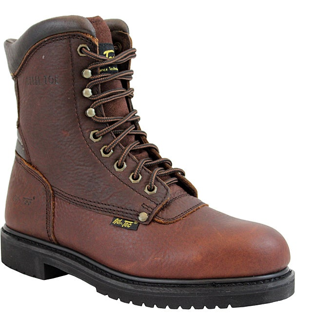 AdTec by Beston Men's Wide Steel Toe Work Boots- Wide