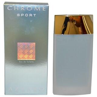 Loris Azzaro Chrome Sport Men's 3.4-ounce Eau de Toilette Spray