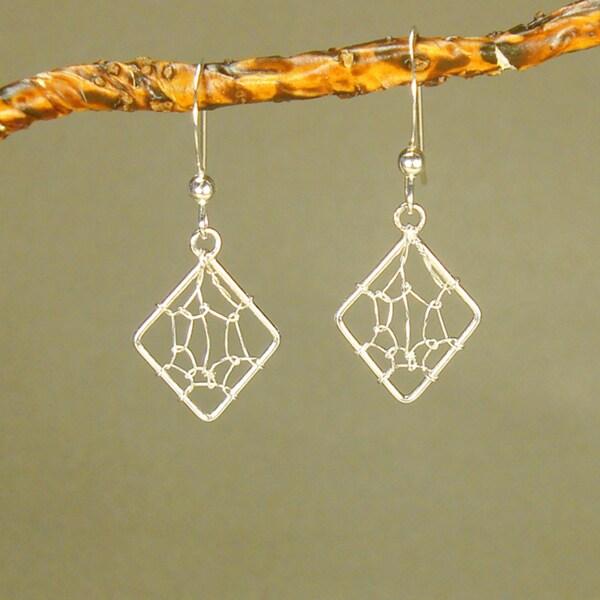 Jewelry by Dawn Dream Catcher Sterling Silver Earrings