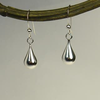 Jewelry by Dawn Round Teardrop Sterling Silver Earrings|https://ak1.ostkcdn.com/images/products/6816579/Jewelry-by-Dawn-Round-Teardrop-Sterling-Silver-Earrings-P14348514.jpg?impolicy=medium