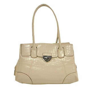 Bueno 'Ajla' Cream Shoulder Bag