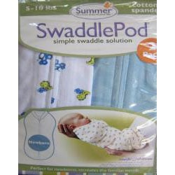 Summer Infant Cotton Swaddle Pod (Pack of 2)