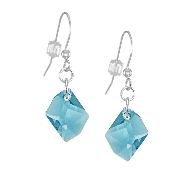 fa9d2742ec277 Shop Handmade Jewelry by Dawn Small Aquamarine Cosmic Swarovski ...