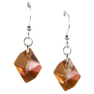 Jewelry by Dawn Sterling Silver Earrings With Copper Cosmic