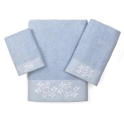 Florentine Garden Textured 3-piece Towel Set