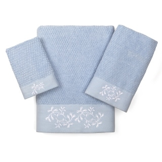Eileen West Florentine Garden 3-piece Towel Set