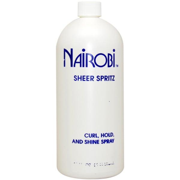 Nairobi 'Sheer Spritz Curl Hold and Shine' 32-ounce Hair Spray