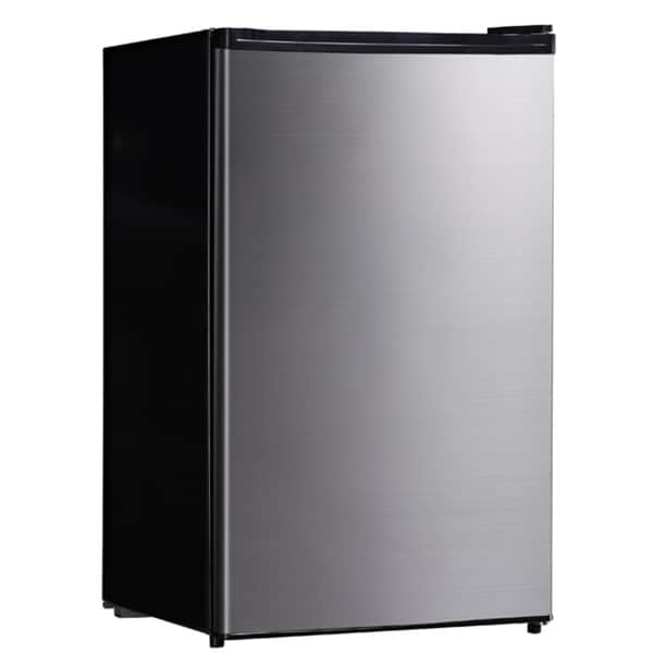 Sunpentown 4.4 Cubic Foot Stainless Steel Compact Refrigerator