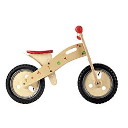 Smart Gear Floral Hearts Smart Balance Bike