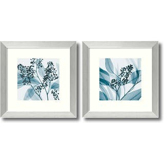 Framed Art Print 'Eucalyptus - set of 2' by Steven N. Meyers 14 x 14-inch Each|https://ak1.ostkcdn.com/images/products/6816802/P14348636.jpg?impolicy=medium