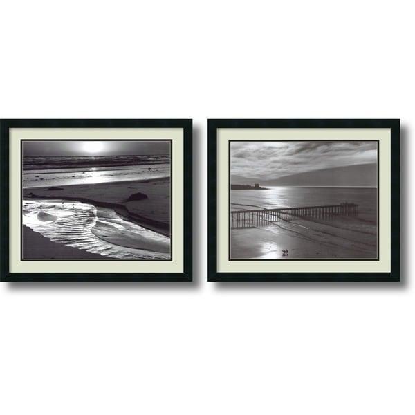 Ansel Adams 'Beach, 1966' 2-piece 26 x 22-inch Framed Art Print