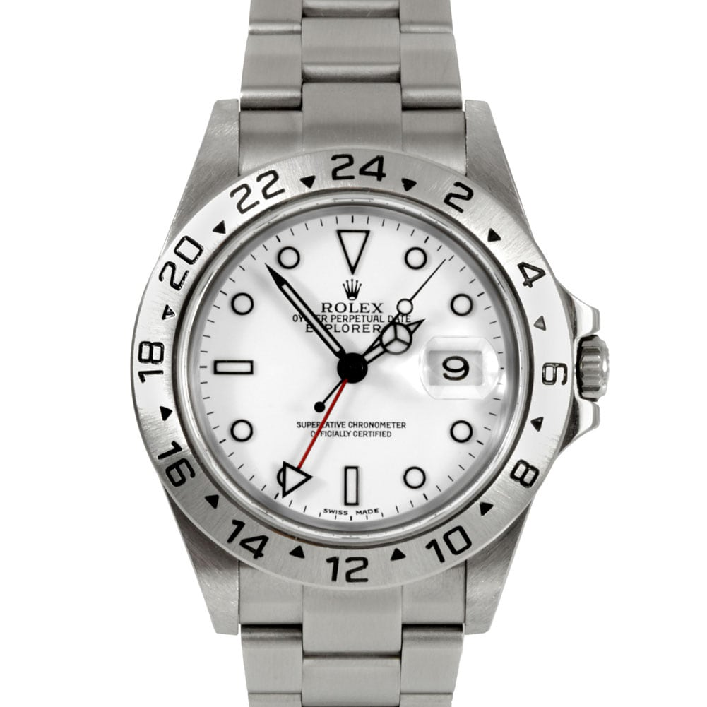 Pre-Owned Rolex Men's Explorer II Stainless Steel Watch