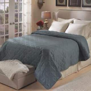 Timeless All Cotton 300-Thread Count Sateen Blanket