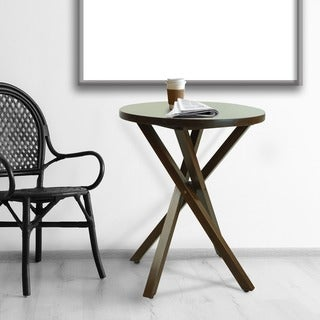 American Trails Criss Cross Table with American Walnut Top