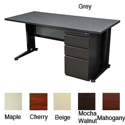 Regency Seating Fusion 66-inch Single Pedestal Desk