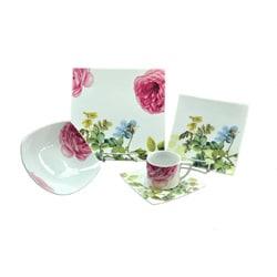 Summer Flowers Dinnerware Set (20 Pieces)