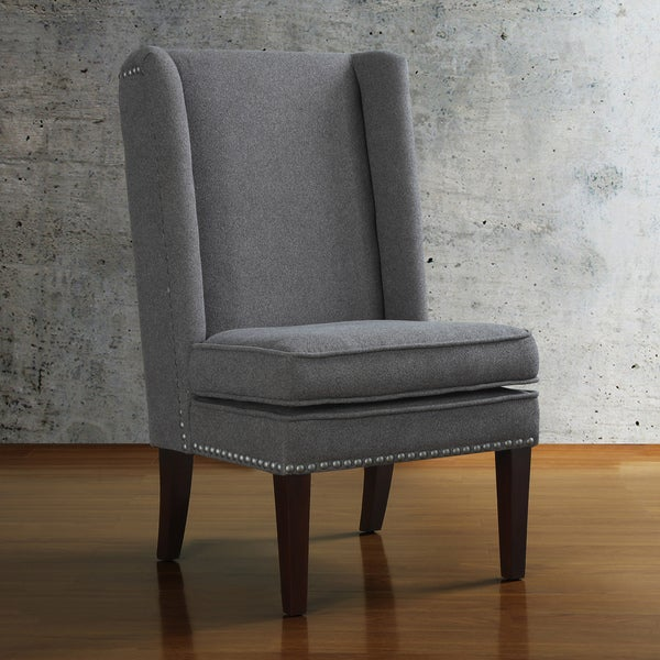 Grey Wing Design Dining Chair