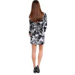 Stanzino Women's Floral Print Collared Dress