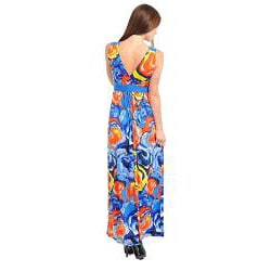 Stanzino Women's Abstract Floral Maxi Dress