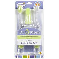 Summer Infant Dr. Mom Three-piece Oral Care Set with Soft Bristles