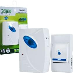 Trademark Home Remote Control Wireless Doorbell