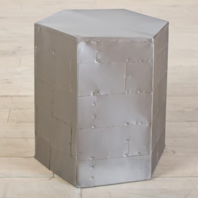 Hexagonal Nainital Side Table (India)