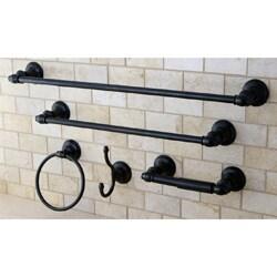 Provence Oil Rubbed Bronze 5-piece Bathroom Accessory Set